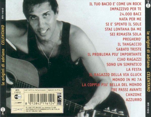 Adriano Celentano Le Origini Vol1 Cd