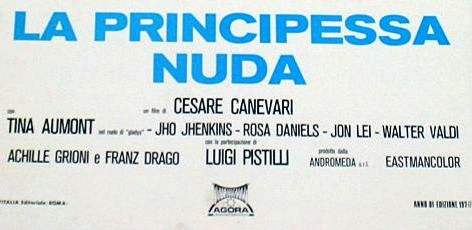 Jon Lei - La principessa nuda (locandina - dettaglio) (foto 3)