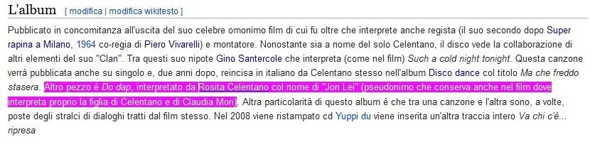 Jon Lei (Rosita Celentano) - Yuppi Du - Wikipedia (foto B)