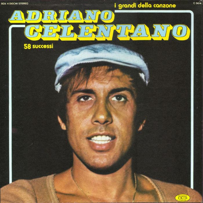 Adriano Celentano La Sua Storia Lp