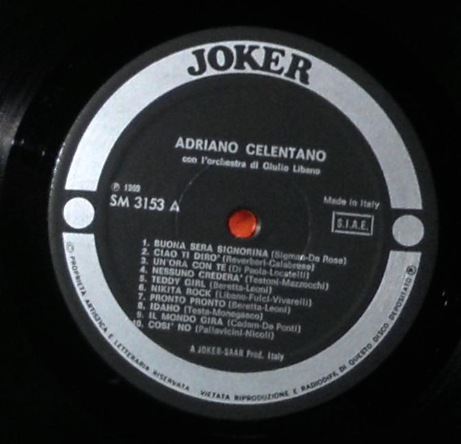 Celentano 20 Successi Di Adriano Celentano