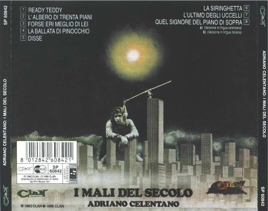 Adriano celentano i mali del secolo cd for Nuovi piani domestici americani