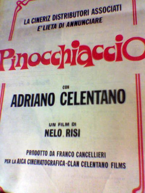 Pinocchiaccio - Locandina